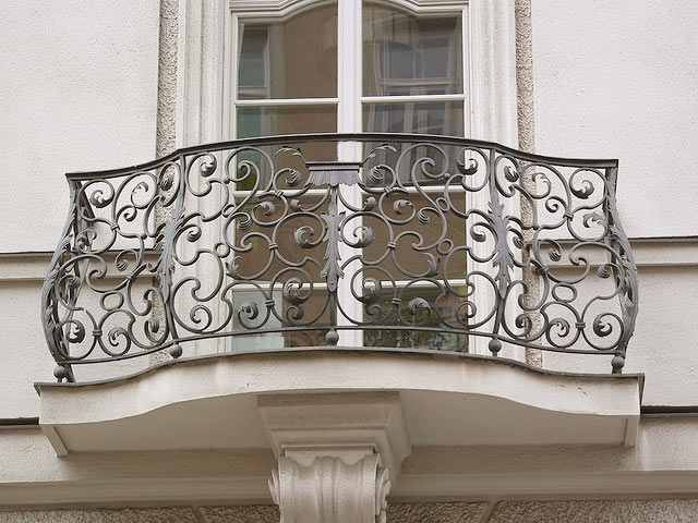 Balustrade balcon for French balcony railing